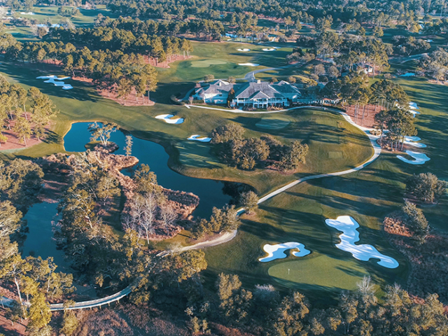 Eagle Point Golf Club - Clubhouse - Aerial 2