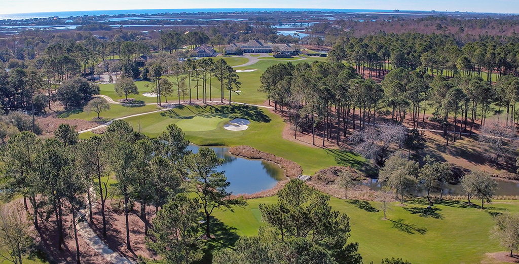 Eagle Point Golf Club - Clubhouse - Aerial 3