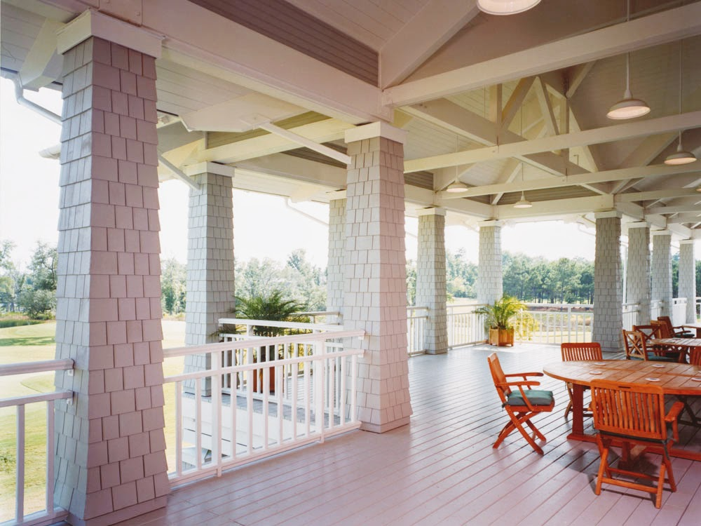 Eagle Point Golf Club - Clubhouse - Porch 2